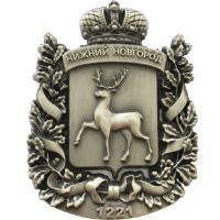 Магниты значки брелоки Нижний Новгород