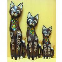 Статуэтки животных из дерева