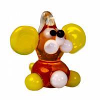 1-809 (10) Мышка-подвеска стекло