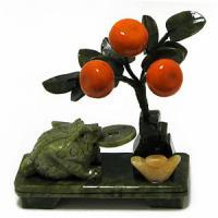 29161 Бонсай Мандарин.дерево,жаба 16*18см