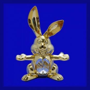 ST-7001 Кролик с хрусталиками 5,5*2,5*8см