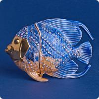 36155 Шкатулка Рыбка 9*6,5см
