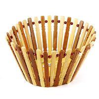 40027 Корзинка круглая бамбук 17*20см