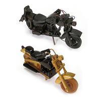 42015 Модель мотоцикла дерево,руч.работа 18см