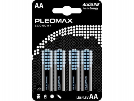 Бат.SAMSUNG Pleomax LR6-4BL Economy (40)