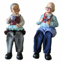 708204 (2) Фигурка Бабушка,дедушка 24*8см