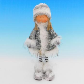 ZC-40551 (24) Мальчик в зимней одежде, 19*11*35см