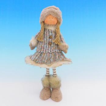 ZC-40550 (24) Девочка в зимней одежде, 16*8*30см