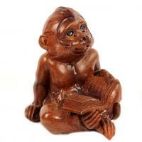 EPW 31936 (2) обезьянка 6,2*6,2*7,8см