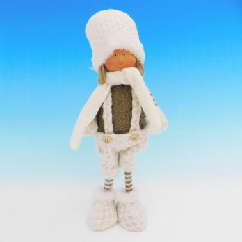 ZC-40536 (24) Мальчик в зимней одежде, 19*13*35см
