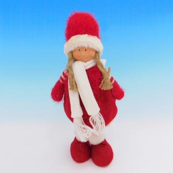 ZC-40535 (24) Девочка в зимней одежде, 16*8*35см