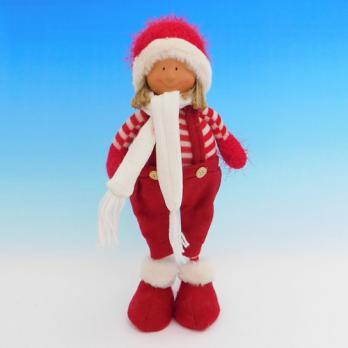 ZC-40534 (24) Мальчик в зимней одежде, 16*8*35см