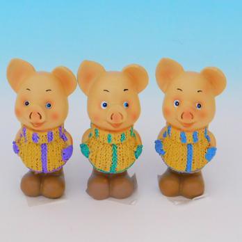 MY-15158(3) Свинья полистоун 5*5*10,5см