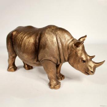 HOL21261 (1-8) Носорог 27.5*8.5*13.2 см