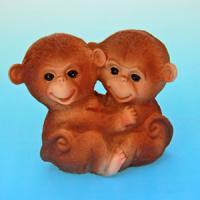 HC-13013 Две обезьянки 12,5*7*10см
