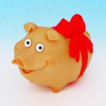 HC-13034 Свинка полистоун 5,5*3,5*5см