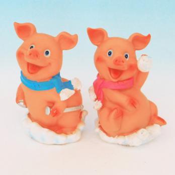 HC-13026(2) Свинка полистоун 8,2*7*11см