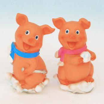 HC-13024(4) Свинка полистоун 5,5*4,8*8см