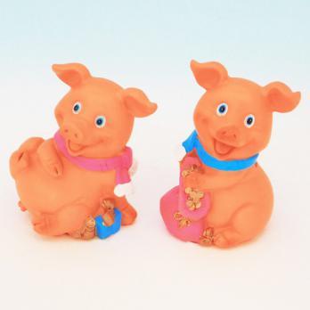 HC-13023(4) Свинья полистоун 8,5*6,2*10,5см