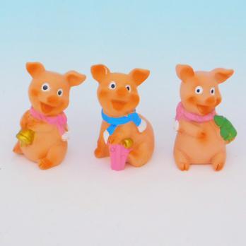 HC-13022(12) Свинка полистоун 2,5*2,2*4см