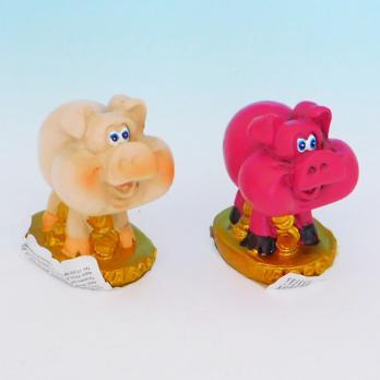HC-13021 Свинья полистоун 4,5*3,5*5см