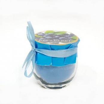 MML15923 (12) Свеча аром. в стекле 5*5*5.5см