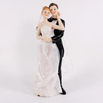 BCG09083 Свадебная пара 7,7*6,6*21,5 см