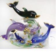 Д06063 Дельфин 5 мал., 13см