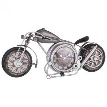 799-120 Часы настольные кварц Мотоцикл 43*8*19 см