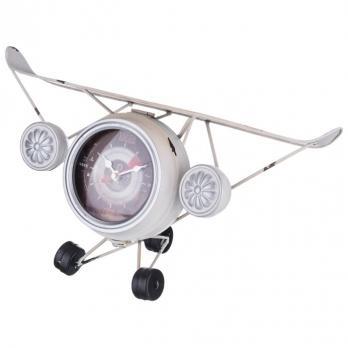 799-119 Часы настольные кварц Самолет 40*17*18 см