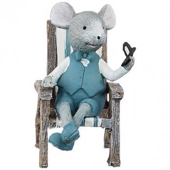 162-560 Статуэтка Мышка 6*4*8 см