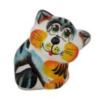 1089 Кот цветной 4.5 см