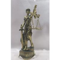 HOL 20642 Богиня правосудия 5*4,5*14,5см