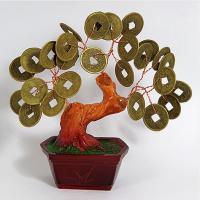 162058 Денежное дерево монетки 12,5см