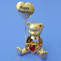 U-3656G/1 Мишка с шаром и хруст.5*4*9см