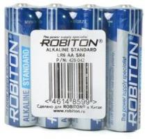 Бат.ROBITON STANDARD LR6-4 спайка