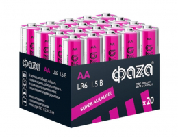 Бат.ФАZА LR6-20 Pack