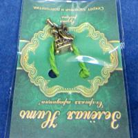 30123-1 Нить зеленая Ангел с дудкой