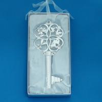 HG-03900 Ключ серебряный  На счастье 9*0,5*20см