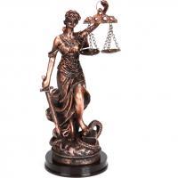 252-234 Фигурка Правосудие 22см