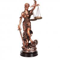 252-235 Фигурка Правосудие 28см