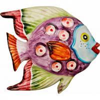 628-101 Панно настенное Рыба 16*15см
