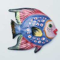 628-107 Панно настенное Рыба 16*15см