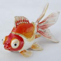 BP-83501 Шкатулка Рыбка со страз.9*4*5см