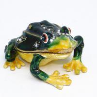 BP-23051 Шкатулка Лягушка со страз.4,5*5,5*2,5см