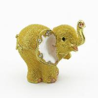 BP-31001 Шкатулка Слоненок со страз.8,5*6*8см