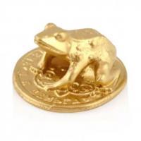 30113 Жаба кошельковая золото