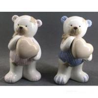 C 10728 (2) медведь с сердцем 6,5*7,5*14см