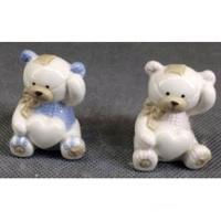 C 10732 (12) медведь с сердцем 3,5*3,5*5,5см