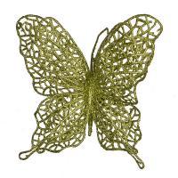 241-2442 Изделие декорат.Бабочка на клипсе